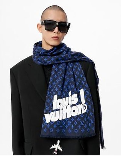 Louis Vuitton - Scarves - Everyday LV for MEN online on Kate&You - MP3129 K&Y11852