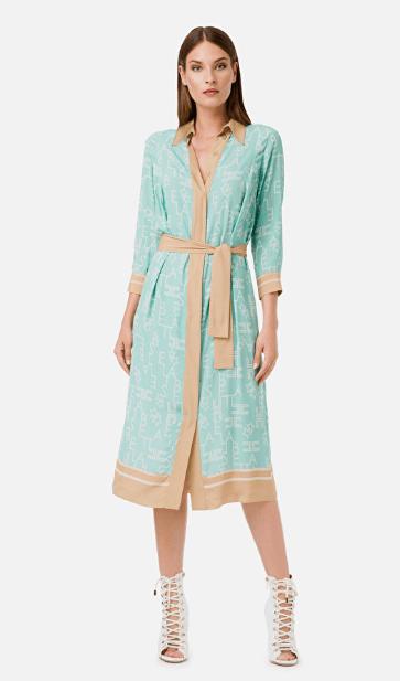 Elisabetta Franchi - Midi dress - for WOMEN online on Kate&You - AB15401E2 K&Y7090