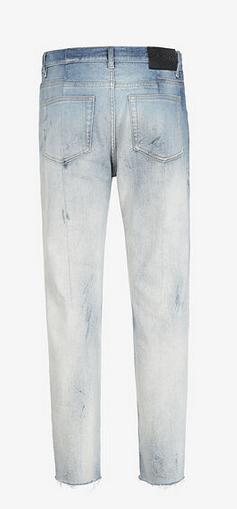 Givenchy - Jeans cropped per UOMO online su Kate&You - BM50MZ50JB-452 K&Y9007