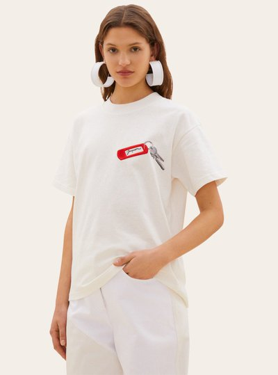 Jacquemus - T-shirts pour FEMME online sur Kate&You - 194JS07-194 18110 K&Y5001