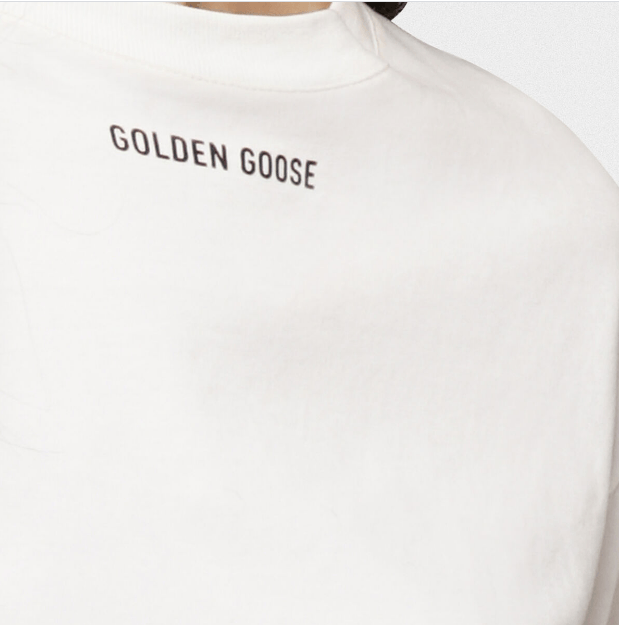 Golden Goose - T-shirts - for WOMEN online on Kate&You - G36WP024.C1 K&Y6302