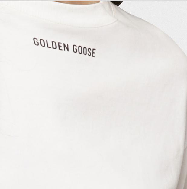 Футболки - Golden Goose для ЖЕНЩИН онлайн на Kate&You - G36WP024.C1 - K&Y6302