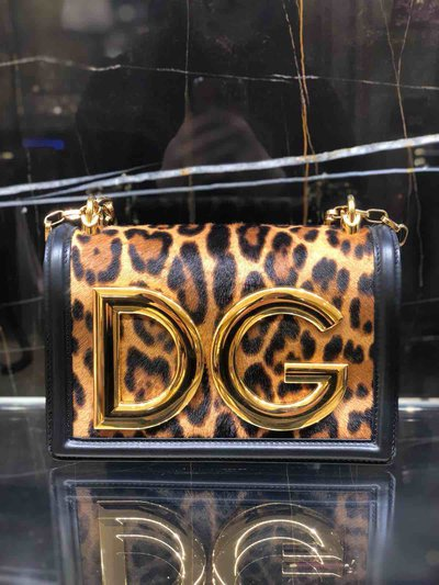Dolce & Gabbana - Sacs portés épaule pour FEMME Leopard Logo online sur Kate&You - BB6498AZ391 K&Y1461