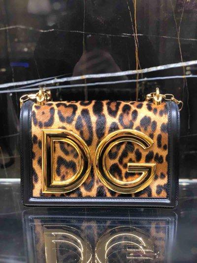 Сумки на плечо - Dolce & Gabbana для ЖЕНЩИН Leopard Logo онлайн на Kate&You - BB6498AZ391 - K&Y1461