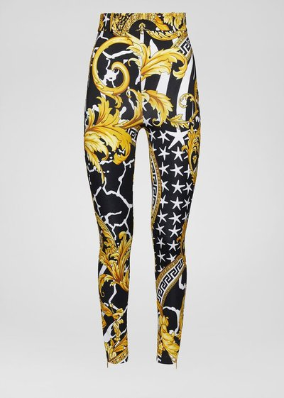 Versace High-Waisted Trousers Kate&You-ID2303