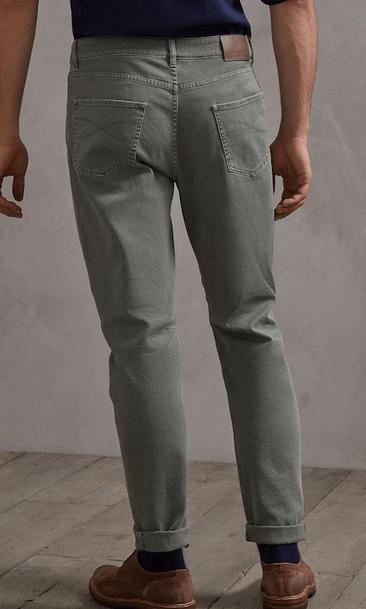 Brunello Cucinelli - Pantalons Amples pour HOMME online sur Kate&You - SKU 202M277PX1290 K&Y8932