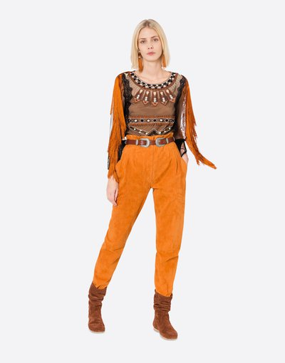 Alberta Ferretti High-Waisted Trousers Kate&You-ID2675