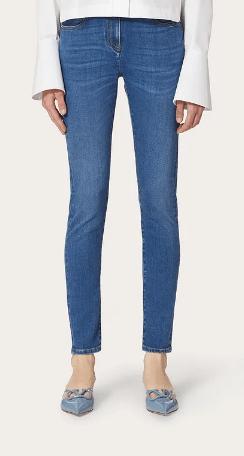 Valentino - Jeans Droits pour FEMME online sur Kate&You - UB3DD10J4MY558 K&Y8655