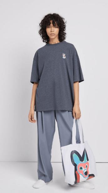 Maison Kitsuné T-shirts Kate&You-ID8022