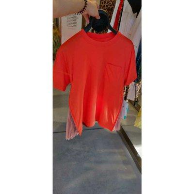 Sacai T-shirts Kate&You-ID1531