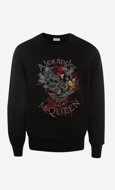 Alexander McQueen - Felpe per UOMO online su Kate&You - 599610QOZ760901 K&Y7766