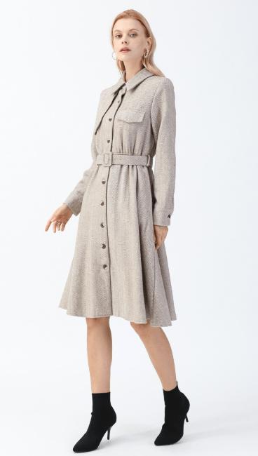 Двубортные пальто - Chicwish для ЖЕНЩИН онлайн на Kate&You - D191205006 - K&Y7457