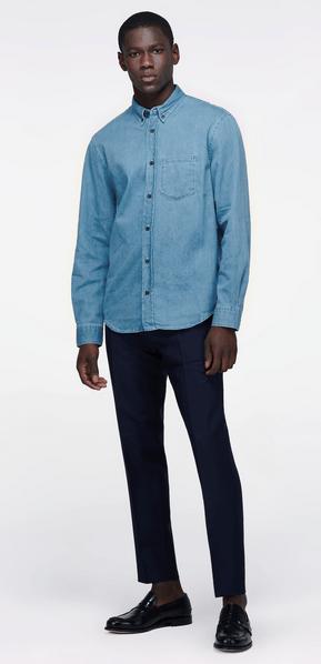 Рубашки - Acne Studios для МУЖЧИН онлайн на Kate&You - - K&Y8478