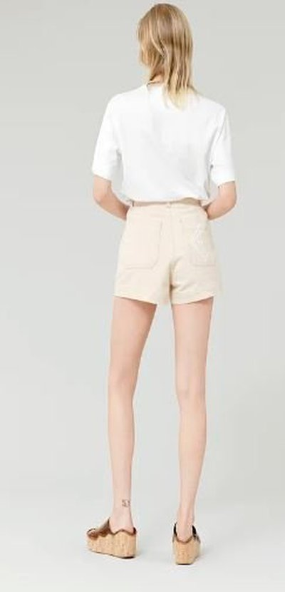 Chloé - T-shirts - T-SHIRT OVERSIZE for WOMEN online on Kate&You - CHC21AJH13184101 K&Y11169