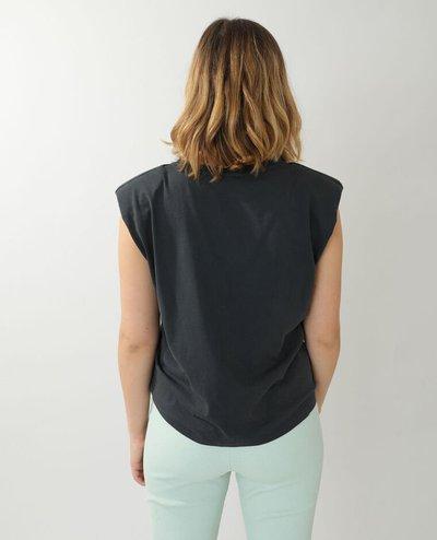 Pimkie - T-shirts - T-SHIRT À ÉPAULETTES GRIS for WOMEN online on Kate&You - 408562824N494010 K&Y11942