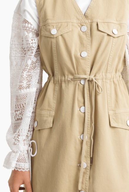 Короткие платья - Chloé для ЖЕНЩИН онлайн на Kate&You - CHS20SDR0116322K - K&Y7739