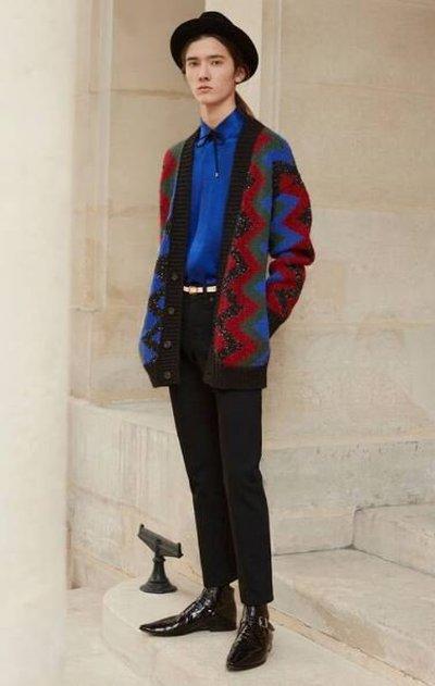 Yves Saint Laurent - Cardigans - for MEN online on Kate&You - 663352Y75BT1016 K&Y11937