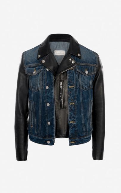 Alexander McQueen Denim Jackets Kate&You-ID7723
