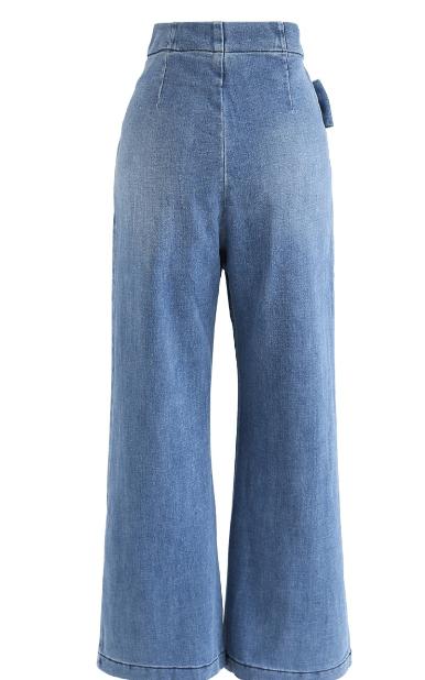 Chicwish - Pantaloni palazzo per DONNA online su Kate&You - B200120008 K&Y7422
