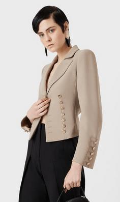 Giorgio Armani Cropped Jackets Kate&You-ID9359