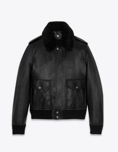 Yves Saint Laurent Кожаные куртки Kate&You-ID11666