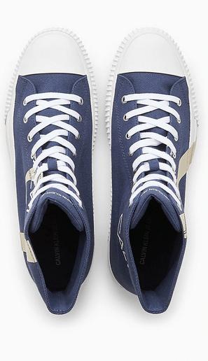 Calvin Klein - Sneakers per UOMO Baskets montantes en toile online su Kate&You - 000B4S0639 K&Y8345