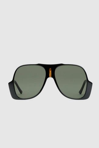 Gucci - Lunettes de soleil pour HOMME Lunettes de soleil aviateur online sur Kate&You - 632688 J0740 1033 K&Y8391