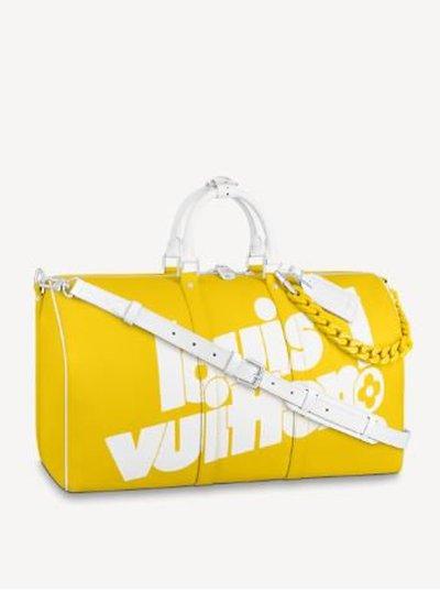 Louis Vuitton Дорожные сумки и Багаж KEEPALL Kate&You-ID11788