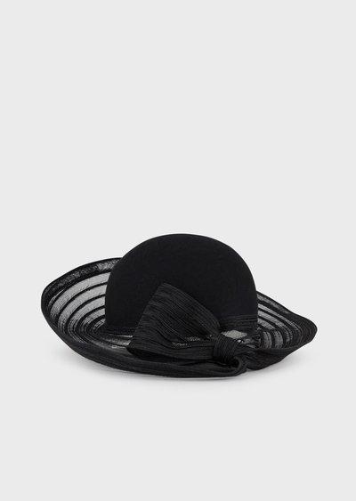 Giorgio Armani - Cappelli per DONNA online su Kate&You - 6373529A511100020 K&Y2546