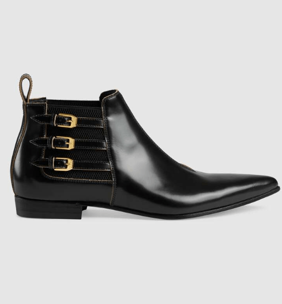 Gucci - Bottes & Bottines pour HOMME online sur Kate&You - 596918 DS8I0 1000 K&Y6190