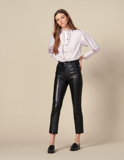 Sandro Straight Trousers Kate&You-ID2601