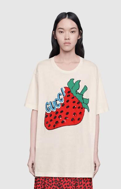 Gucci - T-shirts pour FEMME online sur Kate&You - 539081 XJA2J 7136 K&Y5945