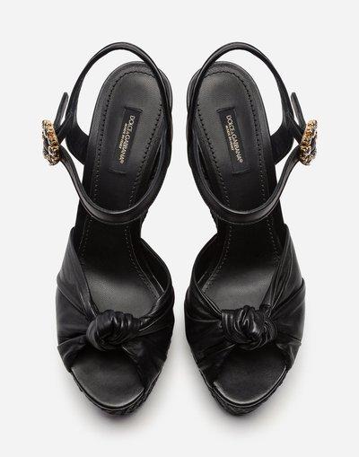 Dolce & Gabbana - Sandali per DONNA online su Kate&You - CZ0219AA70380999 K&Y2246