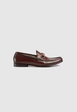 Gucci - Mocassins pour HOMME Mocassins à mors 1953 en cuir online sur Kate&You - 307929 BLM00 1000 K&Y8637