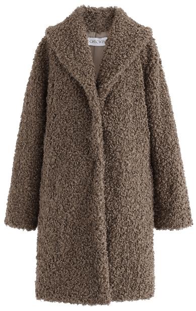 Двубортные пальто - Chicwish для ЖЕНЩИН онлайн на Kate&You - T190905001 - K&Y7486