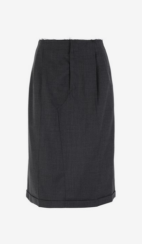Maison Margiela Knee length skirts Kate&You-ID9838