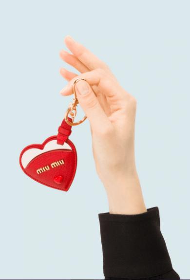 Miu Miu - Portachiavi per DONNA online su Kate&You - 5TL347_2BC3_F068Z K&Y5516