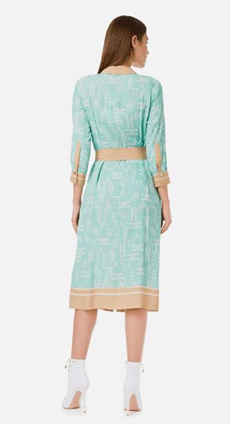Платья средней длины - Elisabetta Franchi для ЖЕНЩИН онлайн на Kate&You - AB15401E2 - K&Y7090
