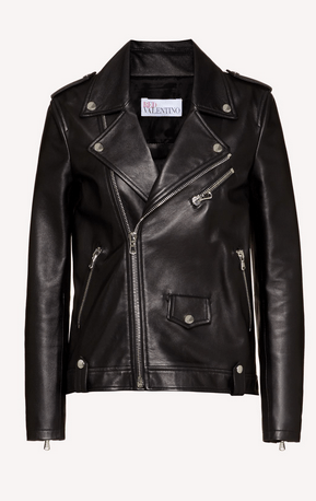 Red Valentino Leather Jackets Kate&You-ID6551