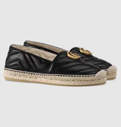 Gucci - Espadrilles - for WOMEN online on Kate&You - 551890 BKO00 1000 K&Y11497