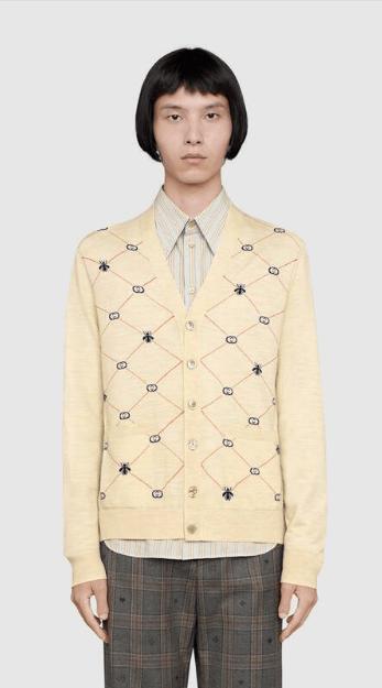Gucci - Cardigans pour HOMME online sur Kate&You - 597741 XKA4I 9133 K&Y6559