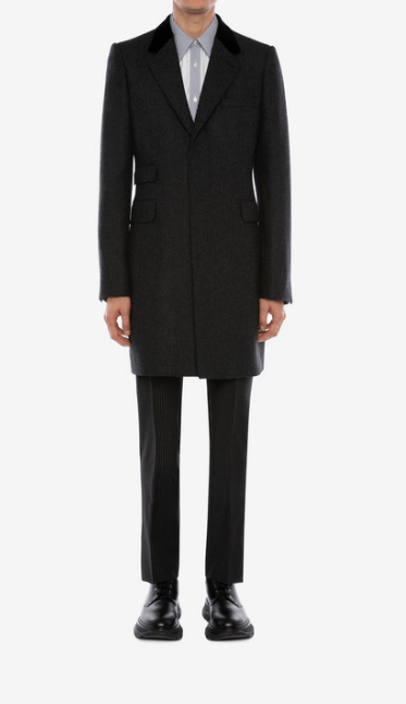 Alexander McQueen - Manteaux Classiques pour HOMME online sur Kate&You - 590055QOV341101 K&Y7722