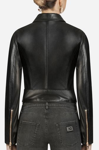 Dolce & Gabbana - Vestes en Cuir pour FEMME online sur Kate&You - K&Y9176