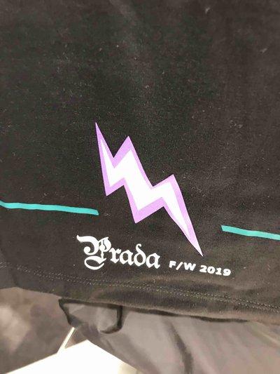 Prada - T-Shirts & Débardeurs pour HOMME Thunder T-shirt online sur Kate&You - 1VQAF0002 K&Y1413