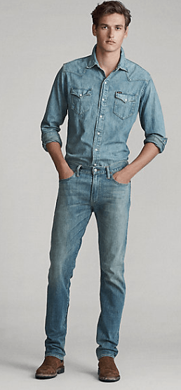 Ralph Lauren - Jeans slim-fit per UOMO online su Kate&You - 397974 K&Y10052