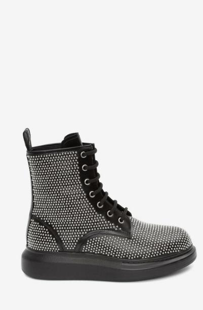 Alexander McQueen - Bottes & Bottines pour FEMME online sur Kate&You - 611701WHXHE1081 K&Y5826