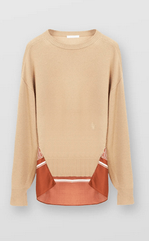 Chloé Sweaters Pull dos imprimé  Kate&You-ID8341