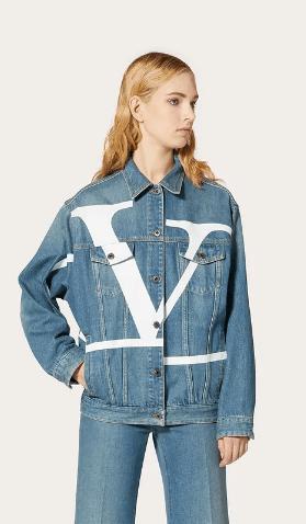 Valentino - Vestes en Jean pour FEMME online sur Kate&You - TB3DC01G4BD51B K&Y8653