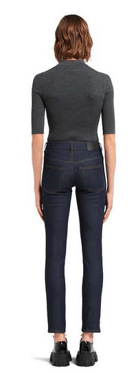 Prada - Jeans cropped per DONNA online su Kate&You - GFP458_1X0V_F0008_S_202 K&Y9537