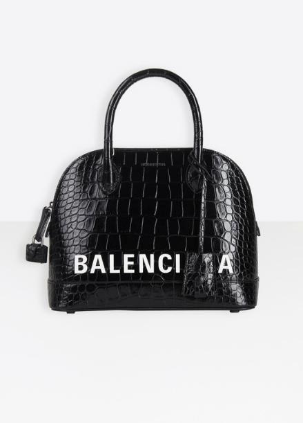 Balenciaga Tote Bags SAC TOP HANDLE VILLE PETIT MODÈLE Kate&You-ID8401